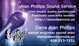 Sound Service Card